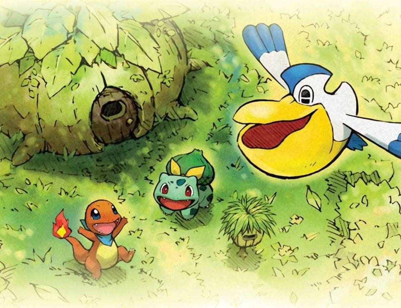 Oznámena adventura Pokémon Mystery Dungeon Rescue Team DX