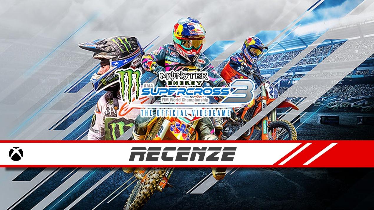Monster Energy Supercross 3 – Recenze