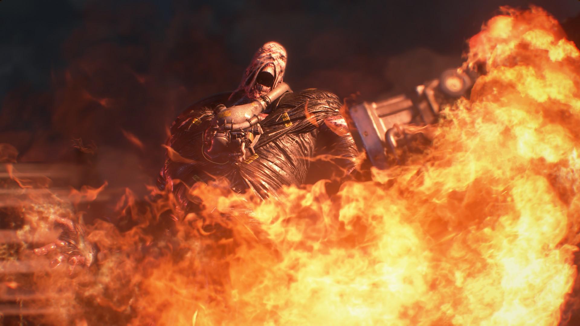 Nový trailer pro Resident Evil 3 se zaměřuje Nemesise