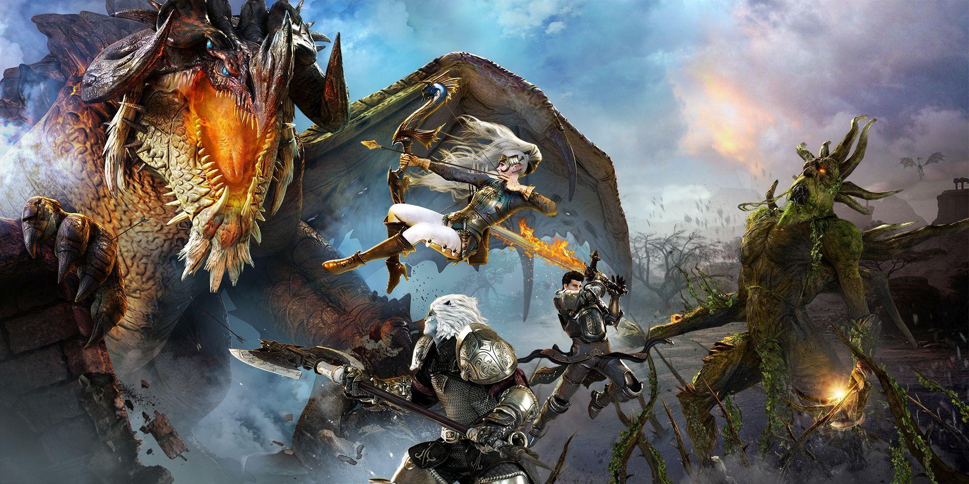 MMO RPG Bless Unleashed má datum vydání pro Xbox One