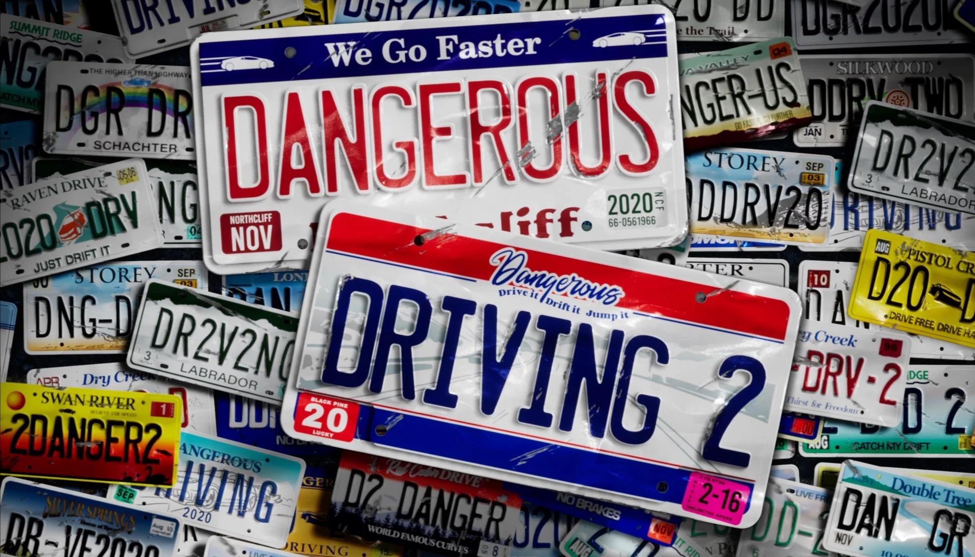 Oznámen závodní titul Dangerous Driving 2