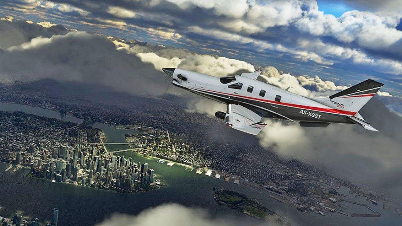 Microsoft Flight Simulator se chlubí tisíci letišti