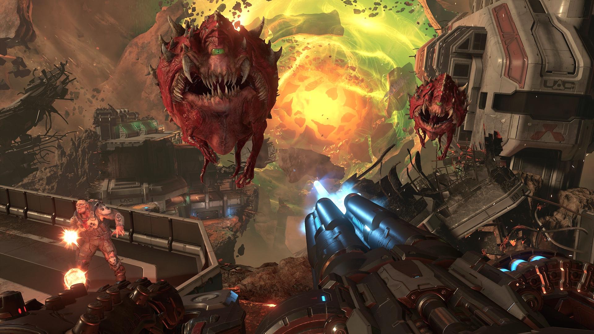 Doom Eternal dostal launch trailer, vychází již příští týden