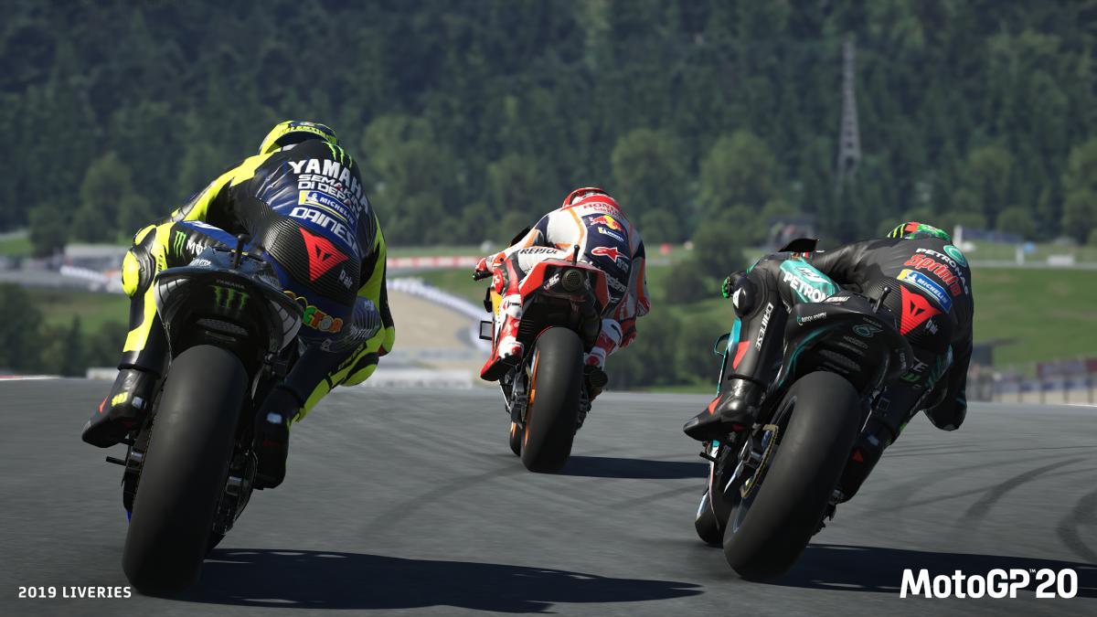 MotoGP 20 se ukazuje v prvním gameplay videu