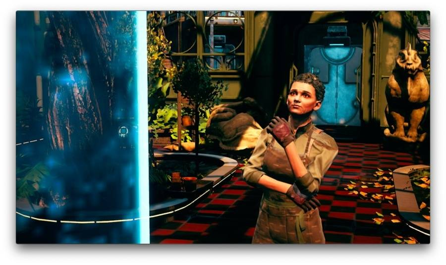The Outer Worlds se ukazuje na obrázcích ze Switch verze