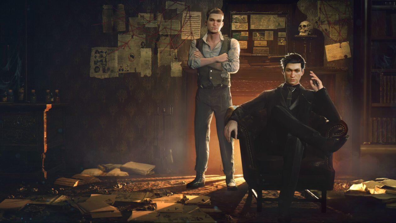 Oznámena detektivní adventura Sherlock Holmes: Chapter One