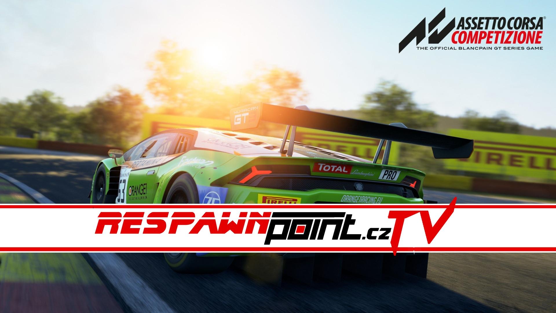 Assetto Corsa: Competizione – Hodinový gameplay stream
