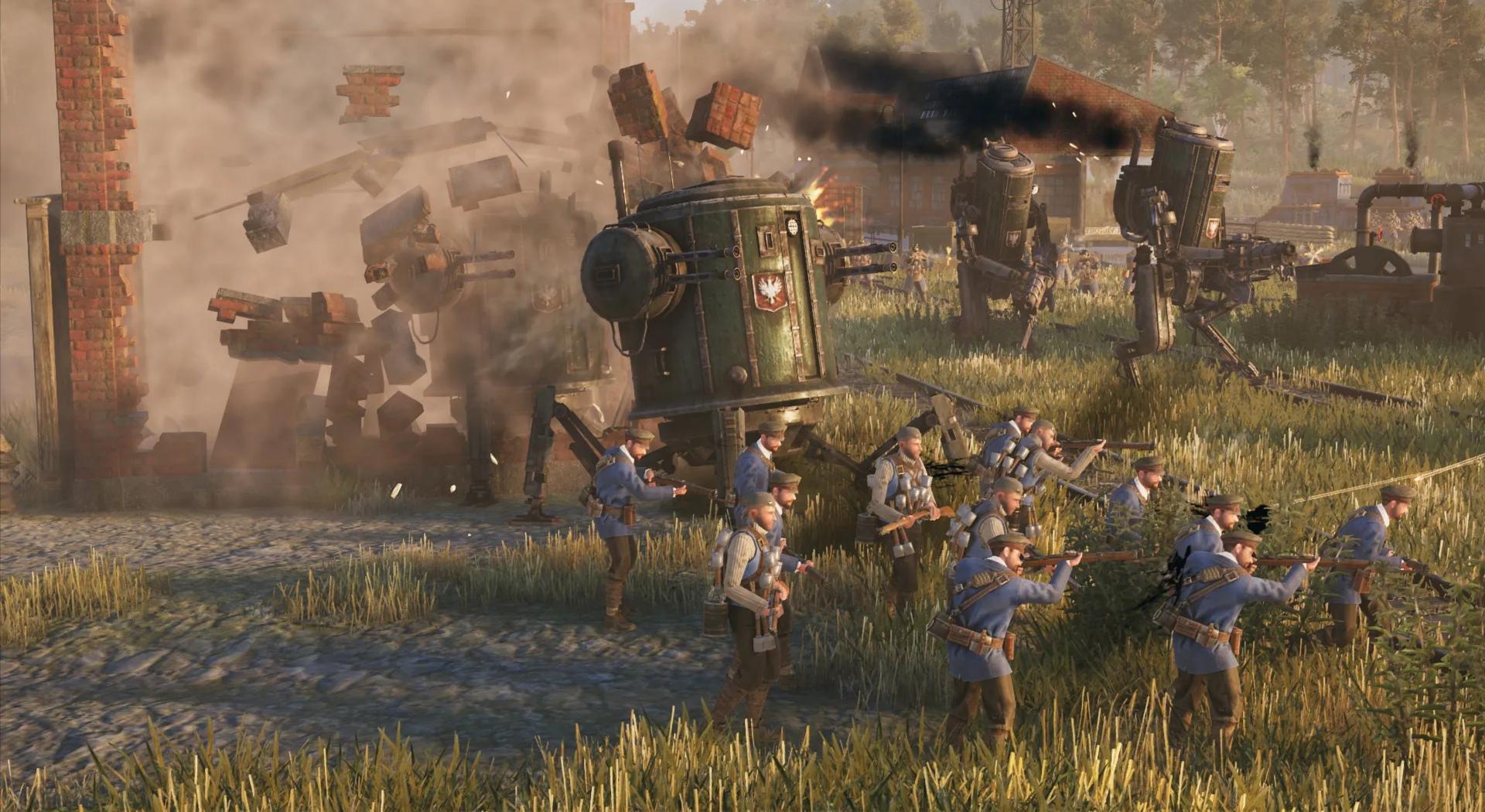 Strategie Iron Harvest se ukazuje v nádherném CGI traileru, odstartoval beta test