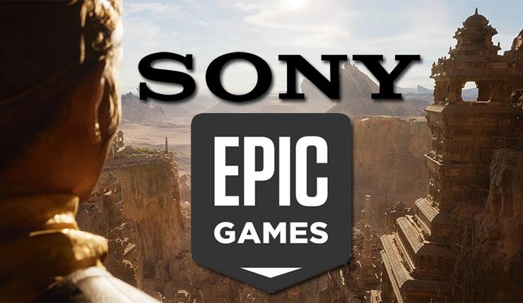 Sony získala menšinový podíl ve společnosti Epic Games
