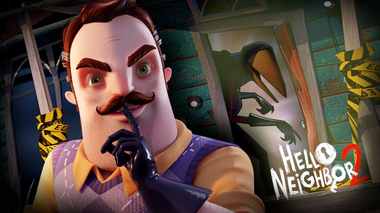 Oznámena adventura Hello Neighbor 2