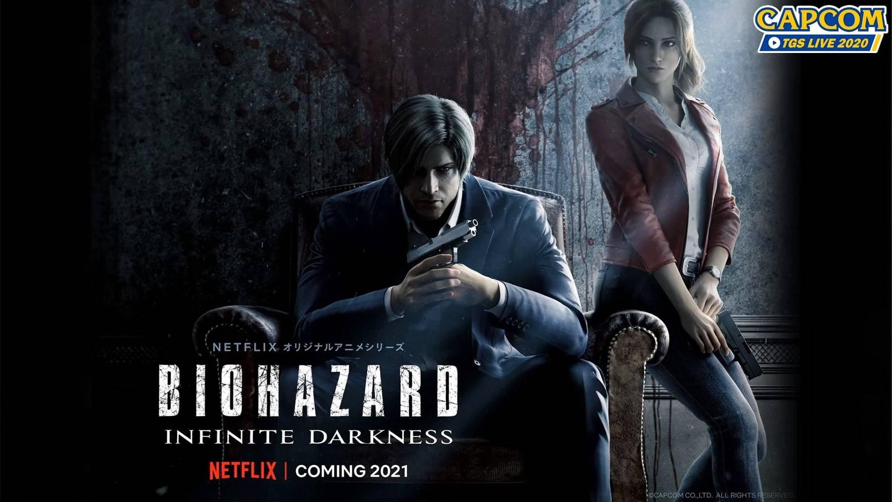 Představen CGI seriál Resident Evil: Infinite Darkness pro Netflix