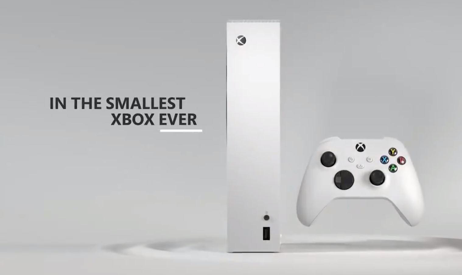 Xbox Series S v prvních detailech a traileru