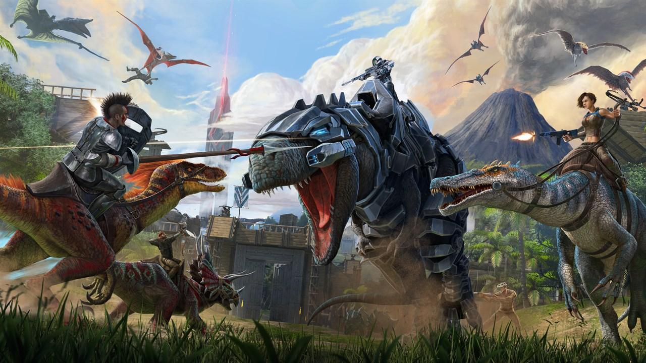 ARK: Survival Evolved dostal update s vylepšeními pro Xbox Series X