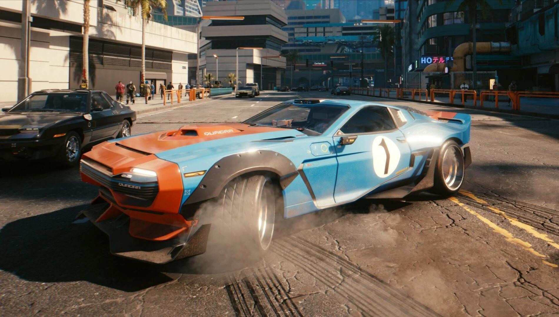 Cyberpunk 2077 představil svůj vozový park, zahrnuje i Porsche