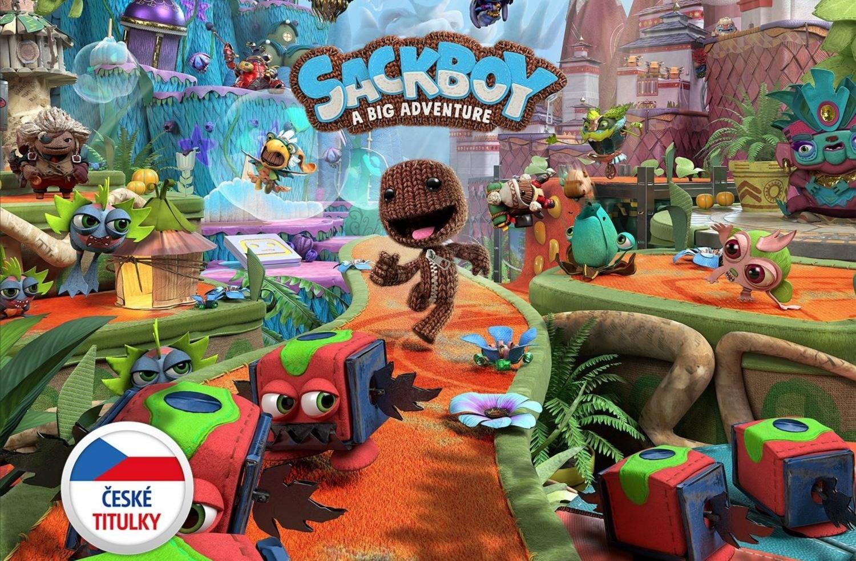 Sackboy: A Big Adventure vyjde na PS5 a PS4 s českou lokalizací