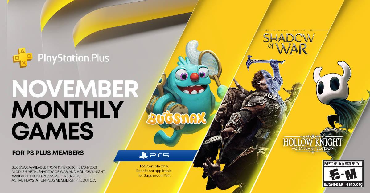 Odhalena listopadová nabídka PS Plus a první hry PS Plus Collection