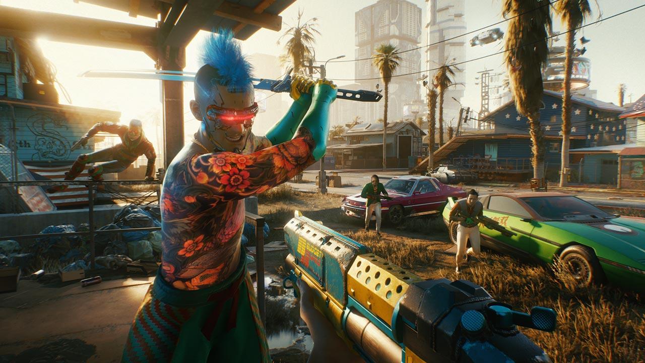 Cyberpunk 2077 se ukazuje v záběrech z hraní na konzoli Xbox Series X