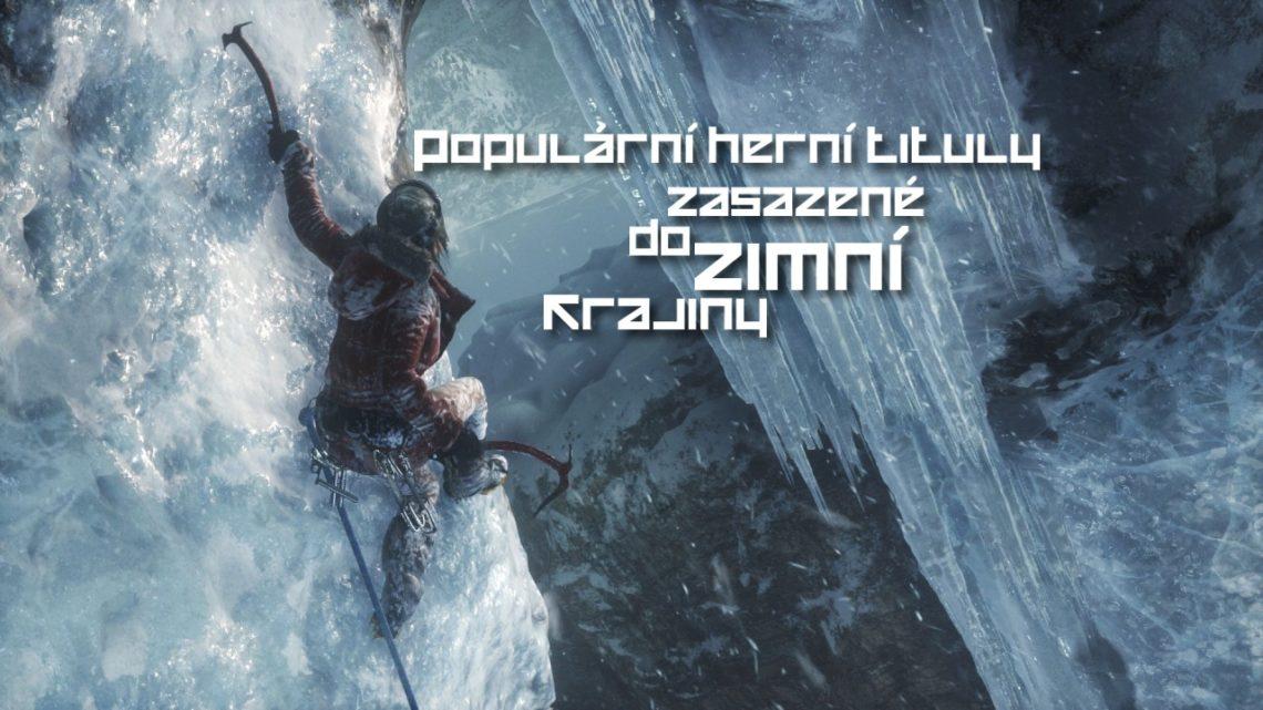 Populární herní tituly zasazené do zimní krajiny