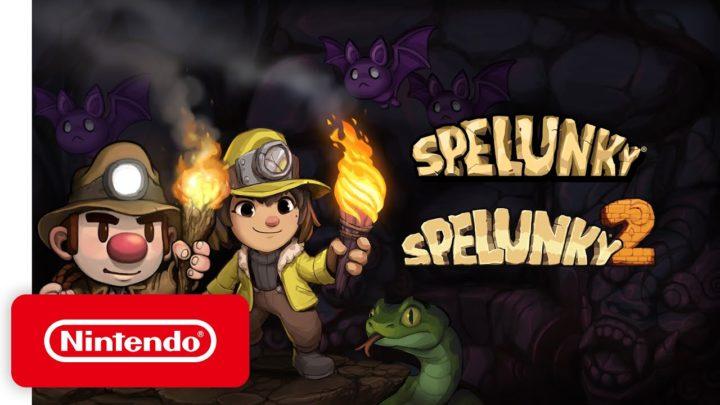 Oba díly Spelunky zamíří v příštím roce na Nintendo Switch