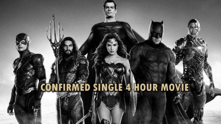 Snyder's Justice League nebude minisérií ale 4 hodinovým filmem