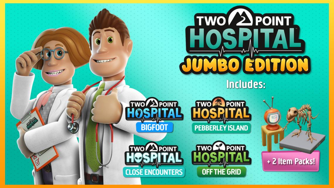 SEGA oznámila Jumbo Edition hry Two Point Hospital