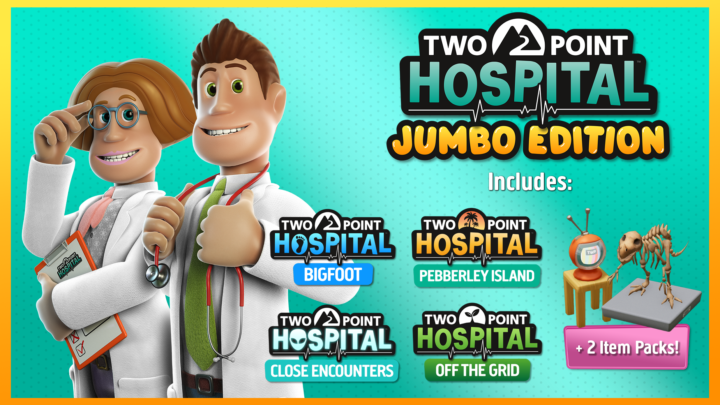 SEGA oznámila Jumbo Edition hry Two Point Hospital