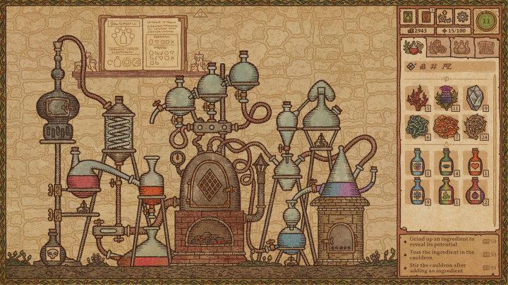 Steam Games Festival přinesl demo hry Potion Craft: Alchemist Simulator