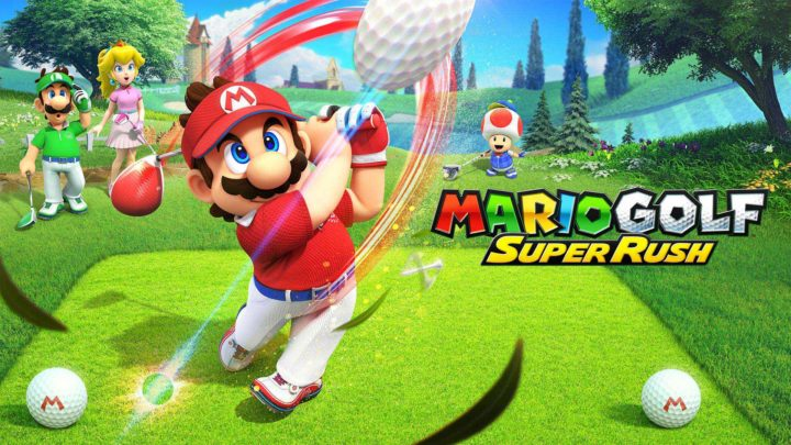 Oznámena hra Mario Golf: Super Rush pro Switch