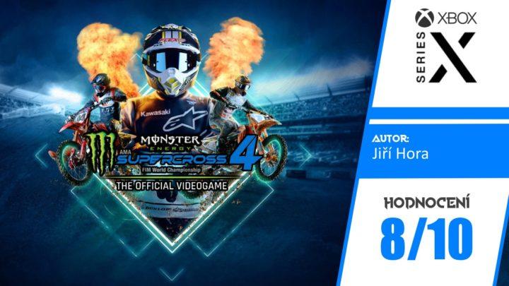 Monster Energy Supercross 4 – Recenze