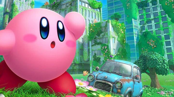 Představena plošinovka Kirby and the Forgotten Land