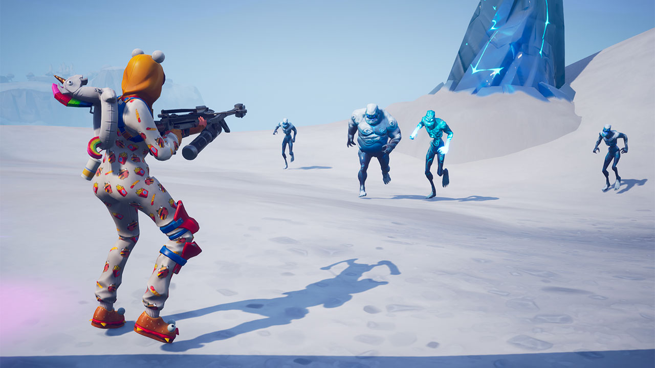 Fortnite o víkendu odstartoval Ice Storm event