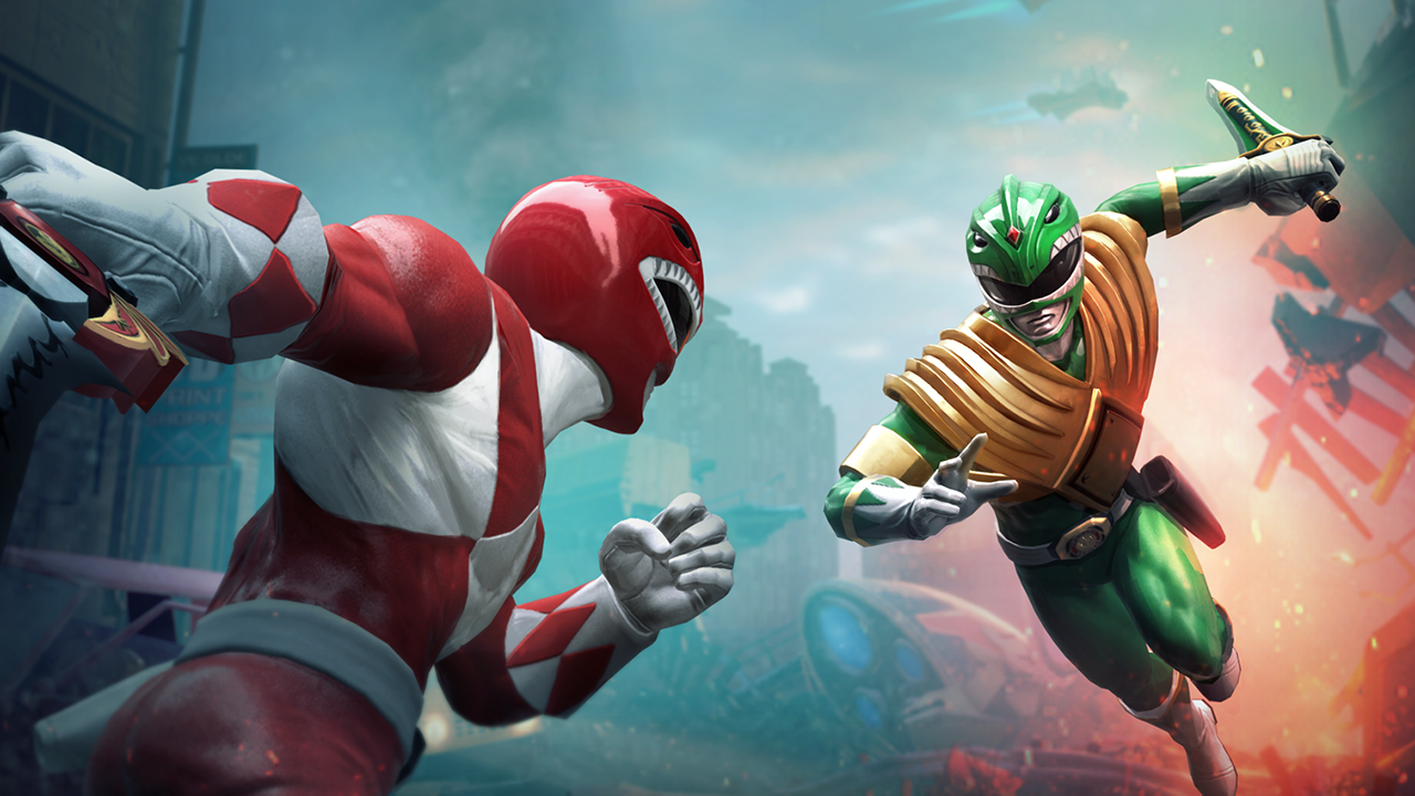 Oznámena hra Power Rangers: Battle for the Grid