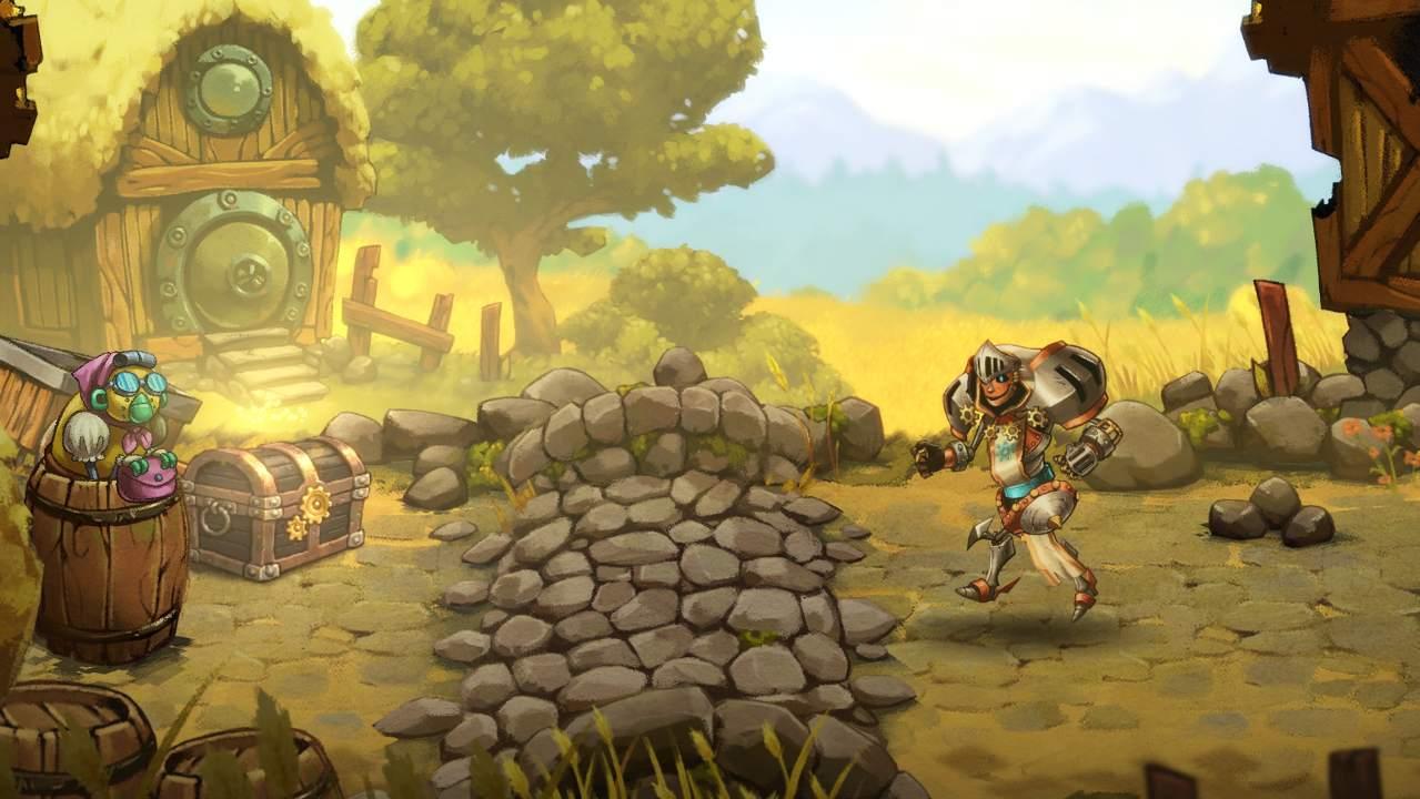 Oznámen nový titul SteamWorld Quest: Hand of Gilgamech