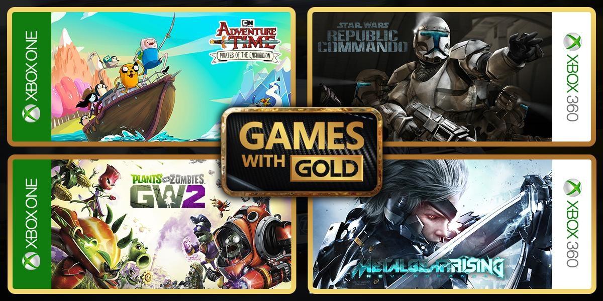 Oznámeny březnové hry Xbox Games with Gold