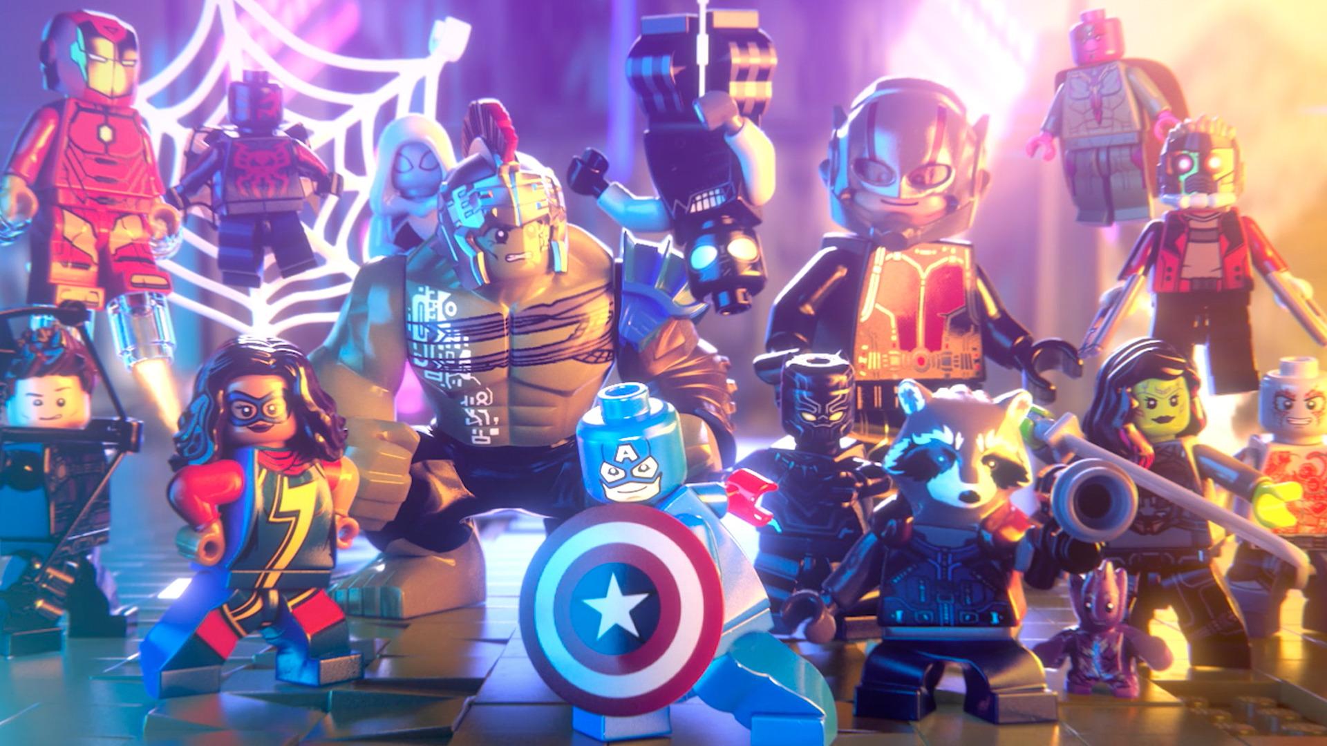 Oznámena kolekce her LEGO Marvel