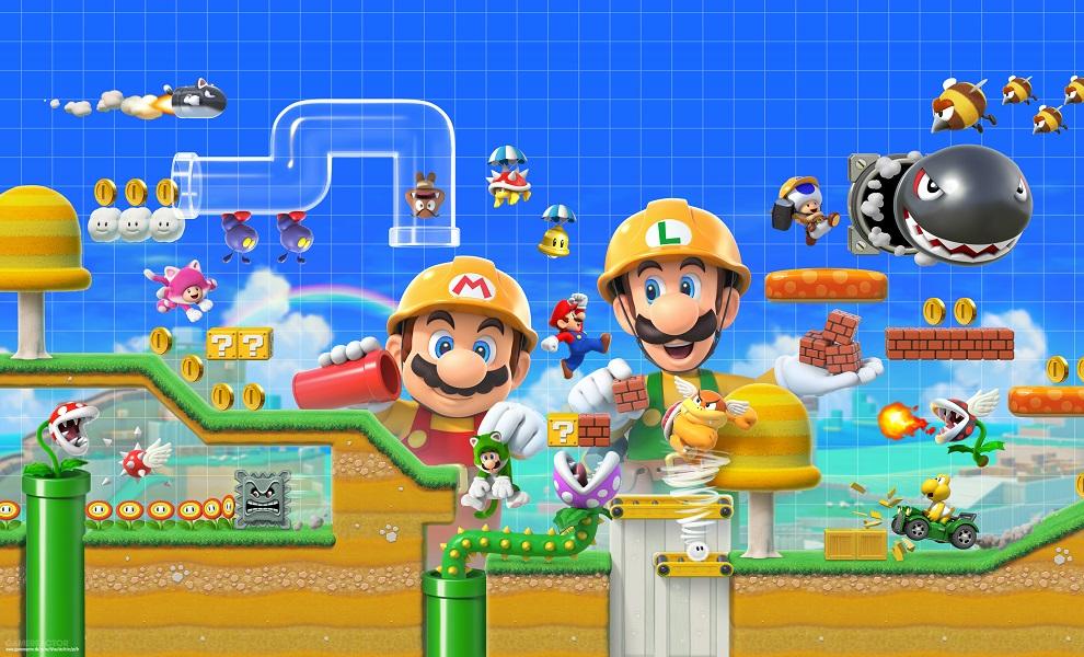 Oznámen Super Mario Maker 2