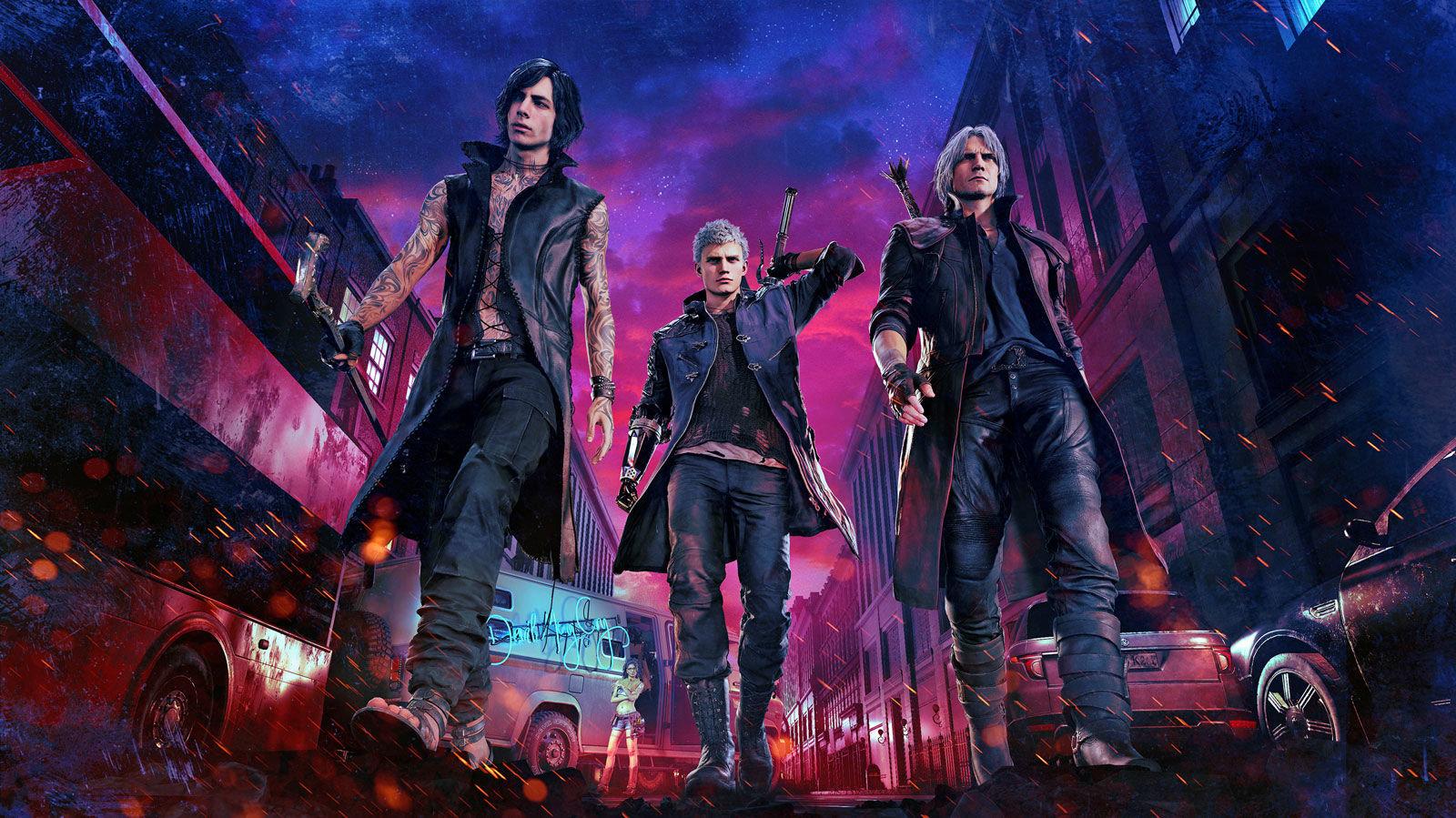 Vyšlo nové demo pro Devil May Cry 5