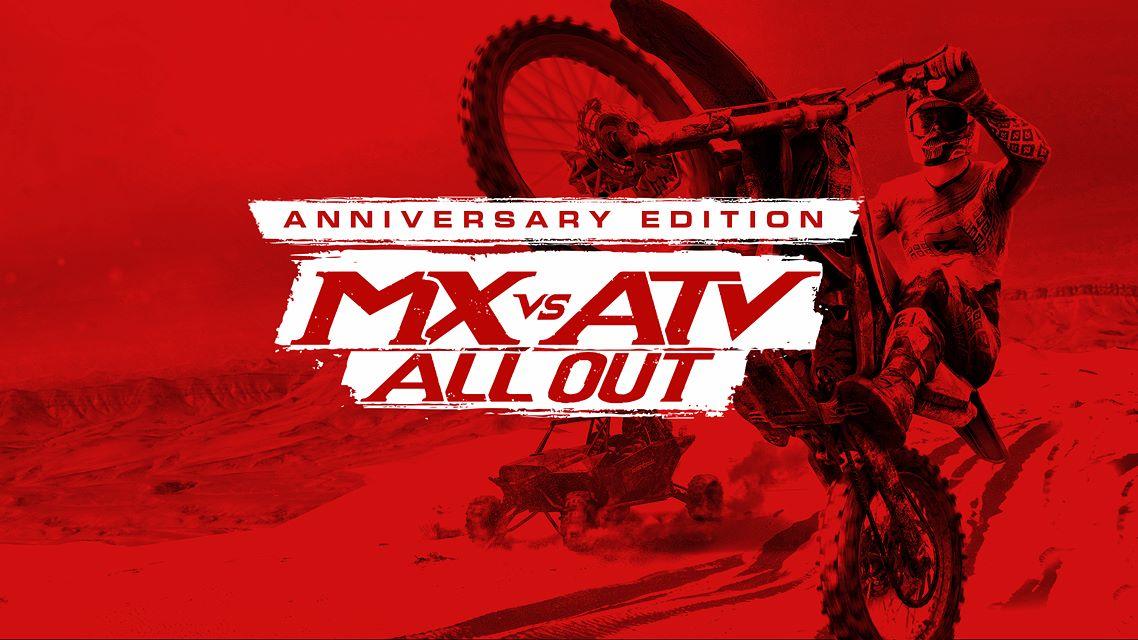 Oznámena MX vs ATV: All Out – Anniversary Edition