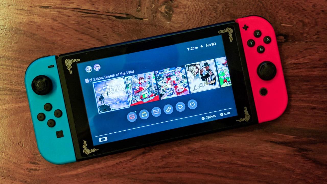 Nintendo chystá menší variantu Nintendo Switch