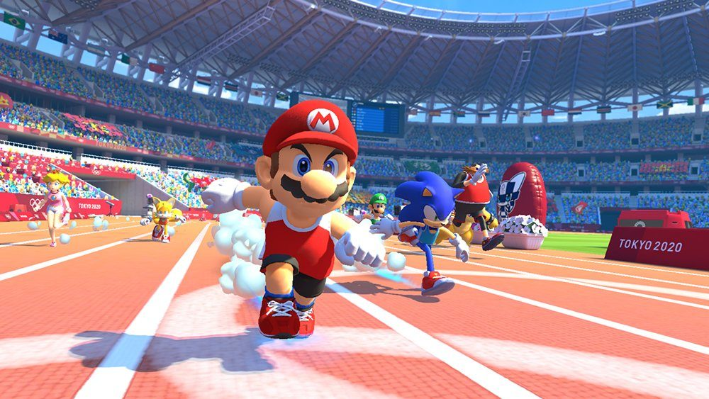 Mario & Sonic at the Tokyo 2020 Olympic Games oznámeno pro Switch