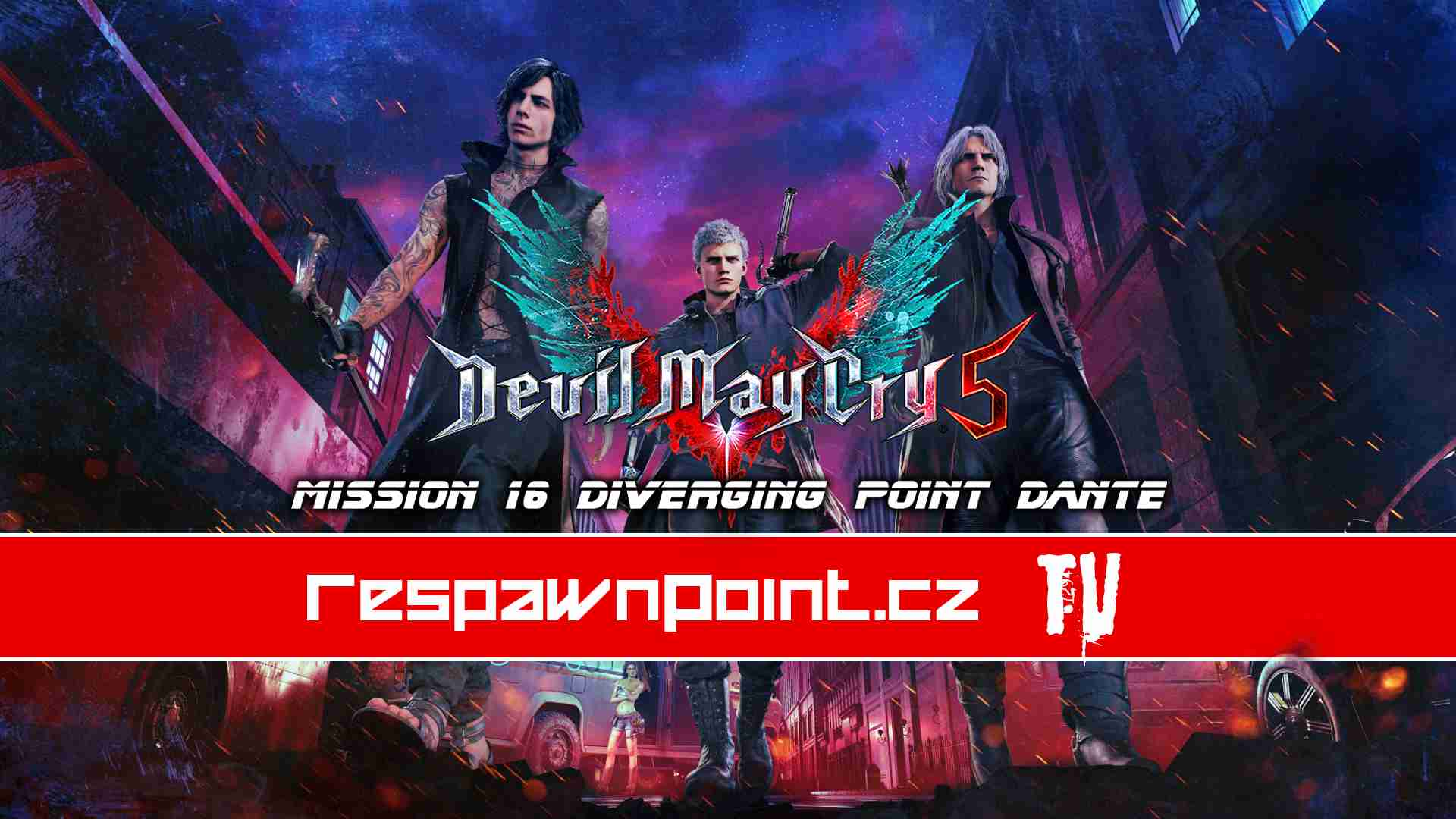 Devil May Cry 5 – Mission 16: Diverging Point Dante – Gameplay