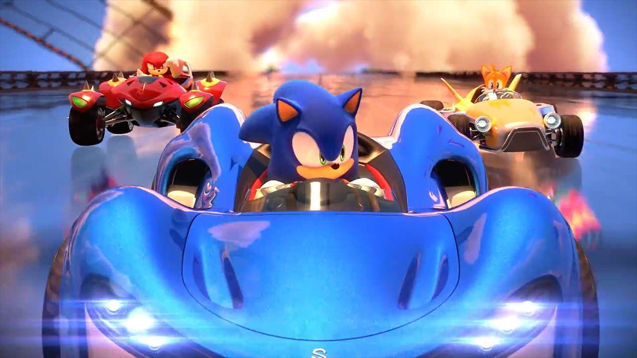 Team Sonic Racing v novém traileru o multiplayeru