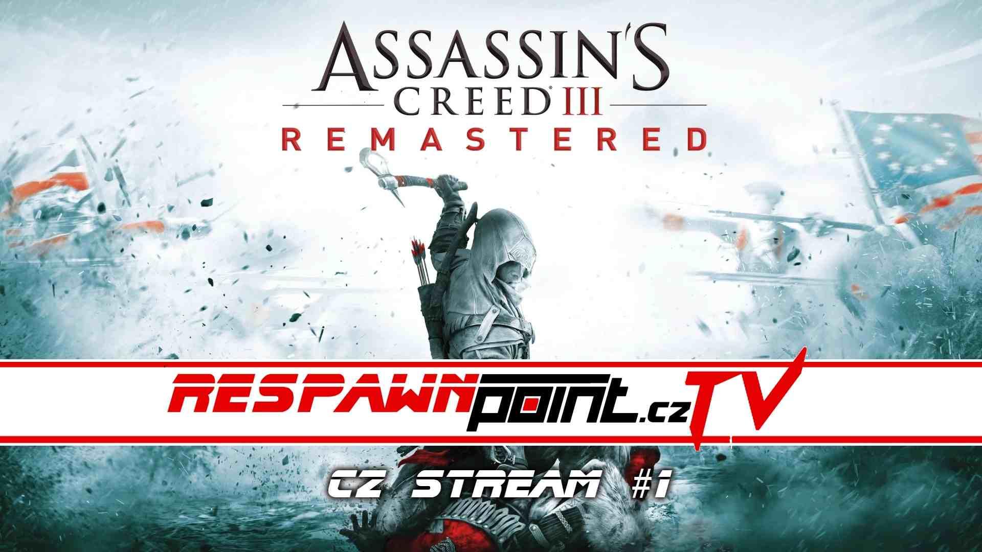 Assassins Creed 3 Remastered – CZ stream #1