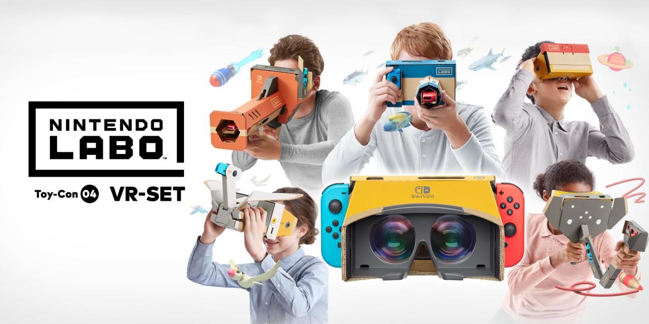 The Legend of Zelda Breath of the Wild a Super Mario Odyssey dostanou podporu Nintendo Labo VR