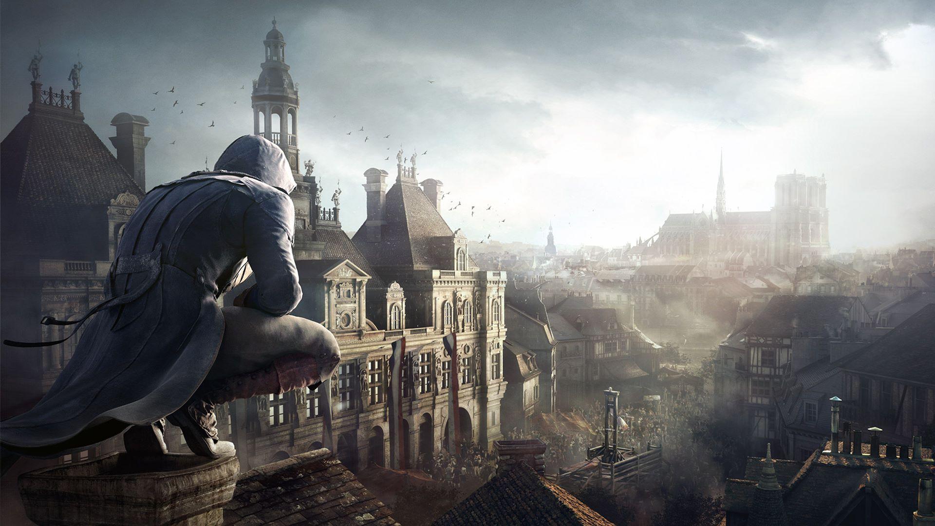 Assassins Creed Unity pro PC zdarma, Ubisoft přispívá na obnovu Notre Dame €500 000
