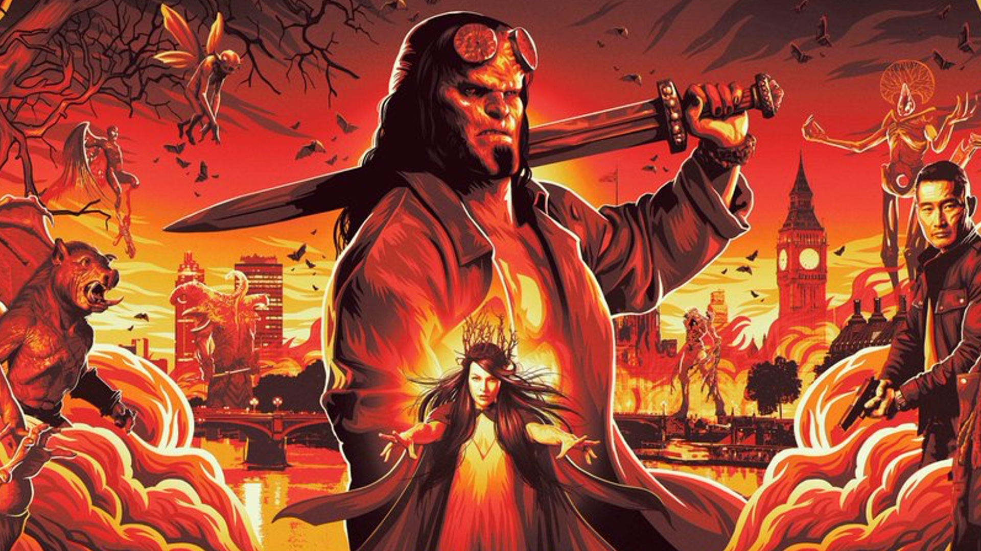 Nový Hellboy v kinech propadl