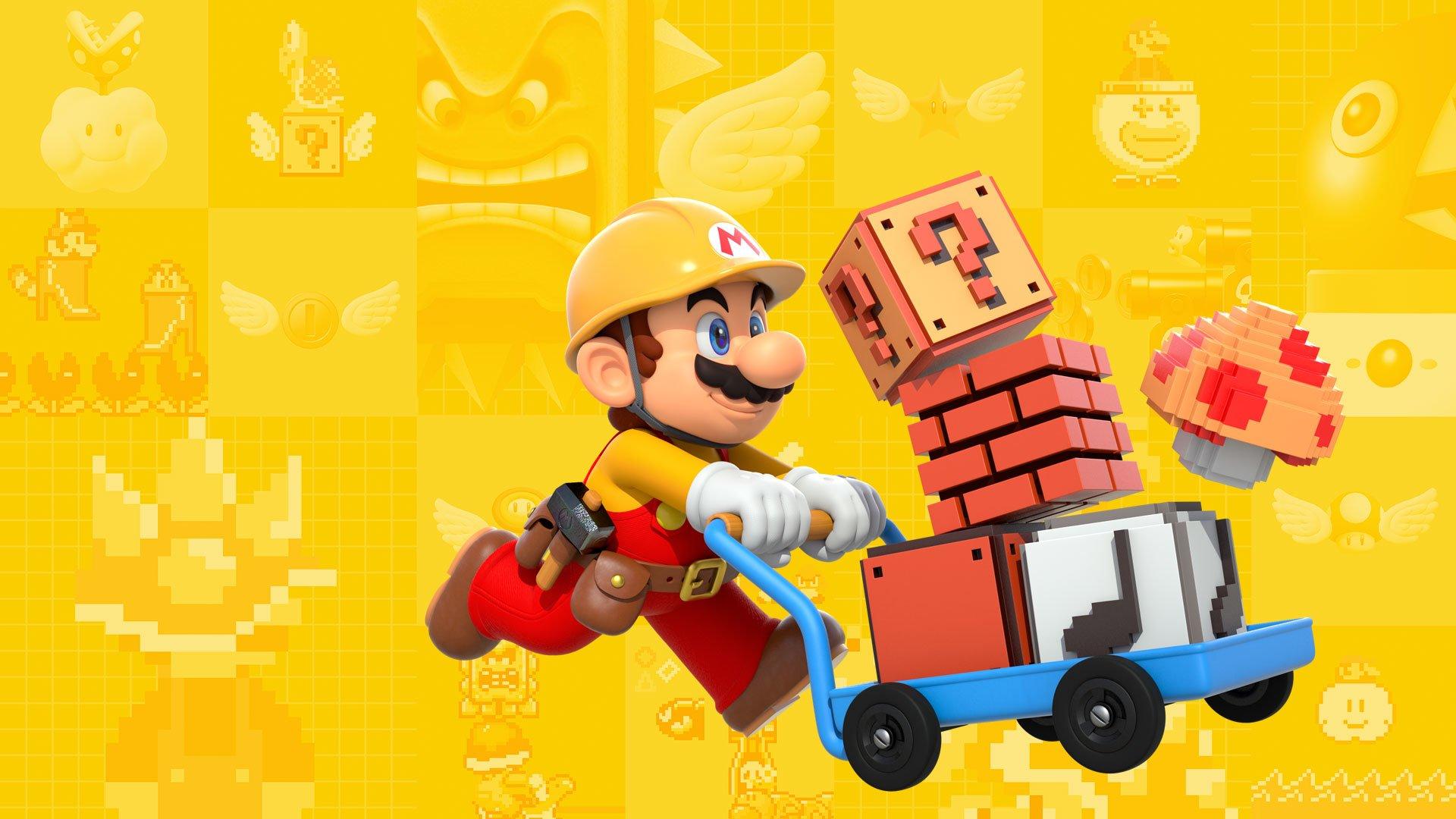 Super Mario Maker 2 vyjde v létě