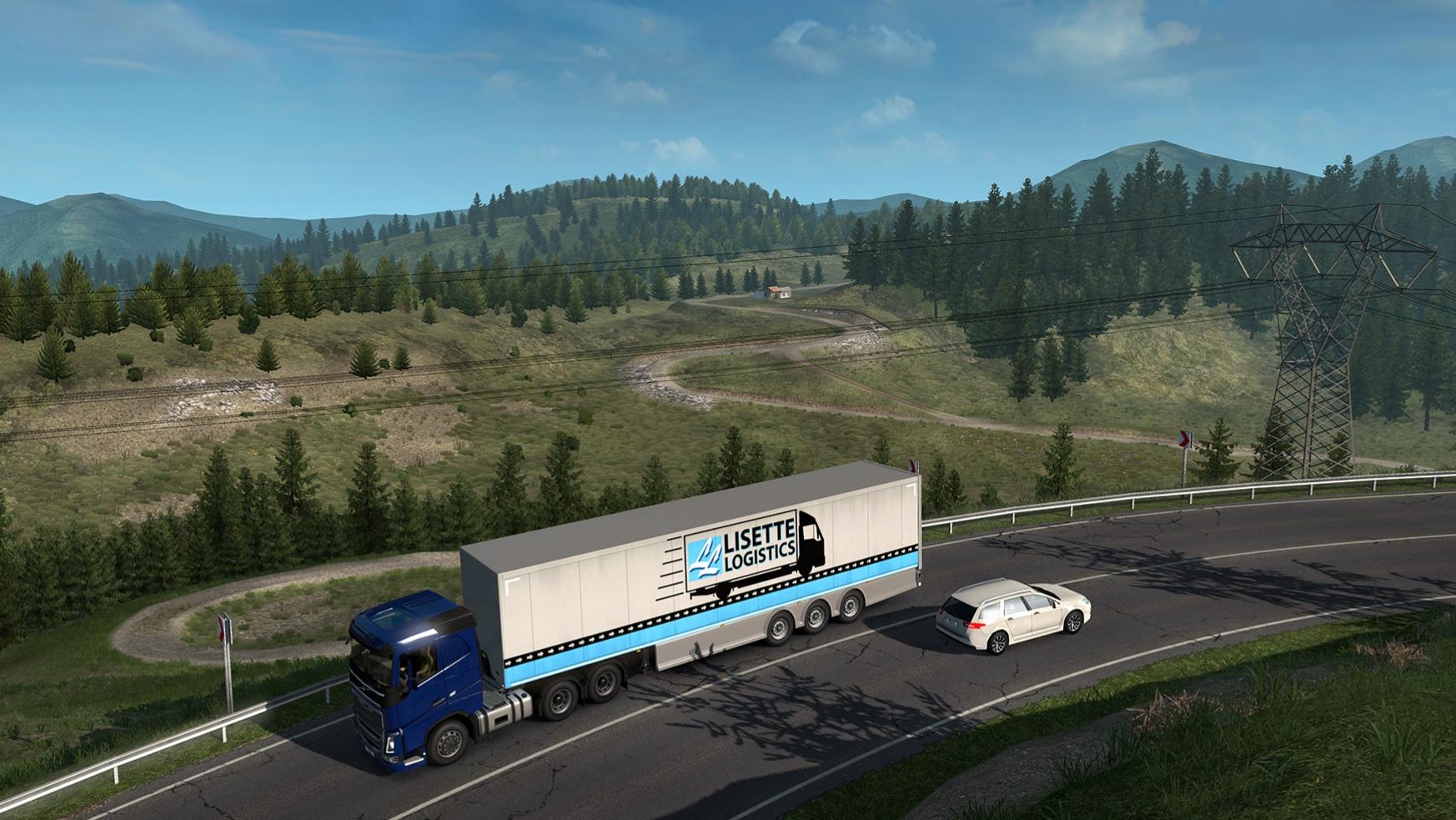 SCS Software oznámili rozšíření Road to the Black Sea pro Euro Truck Simulátor 2