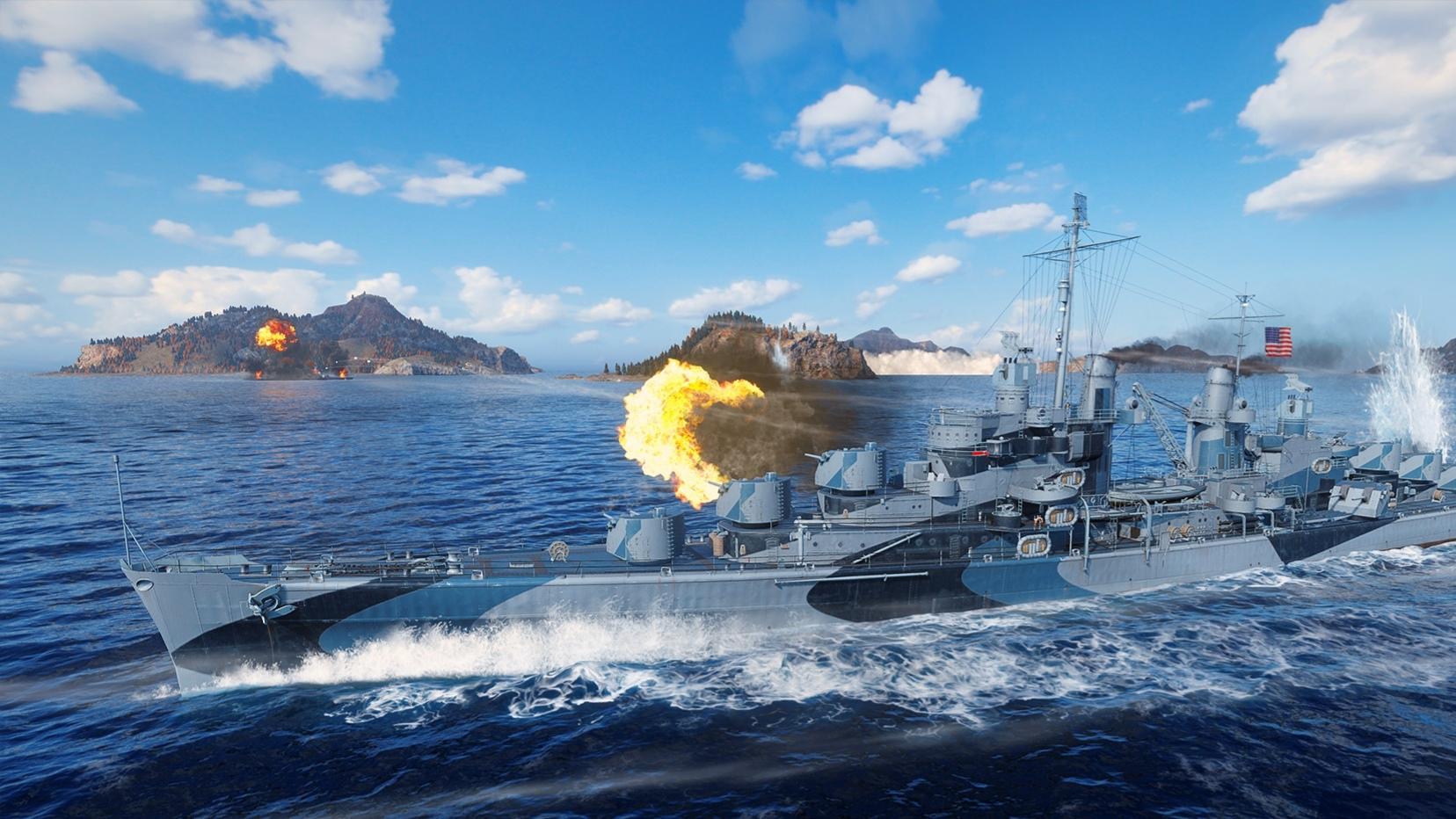 World of Warships Legends zkusilo na konzolích již přes milion hráčů