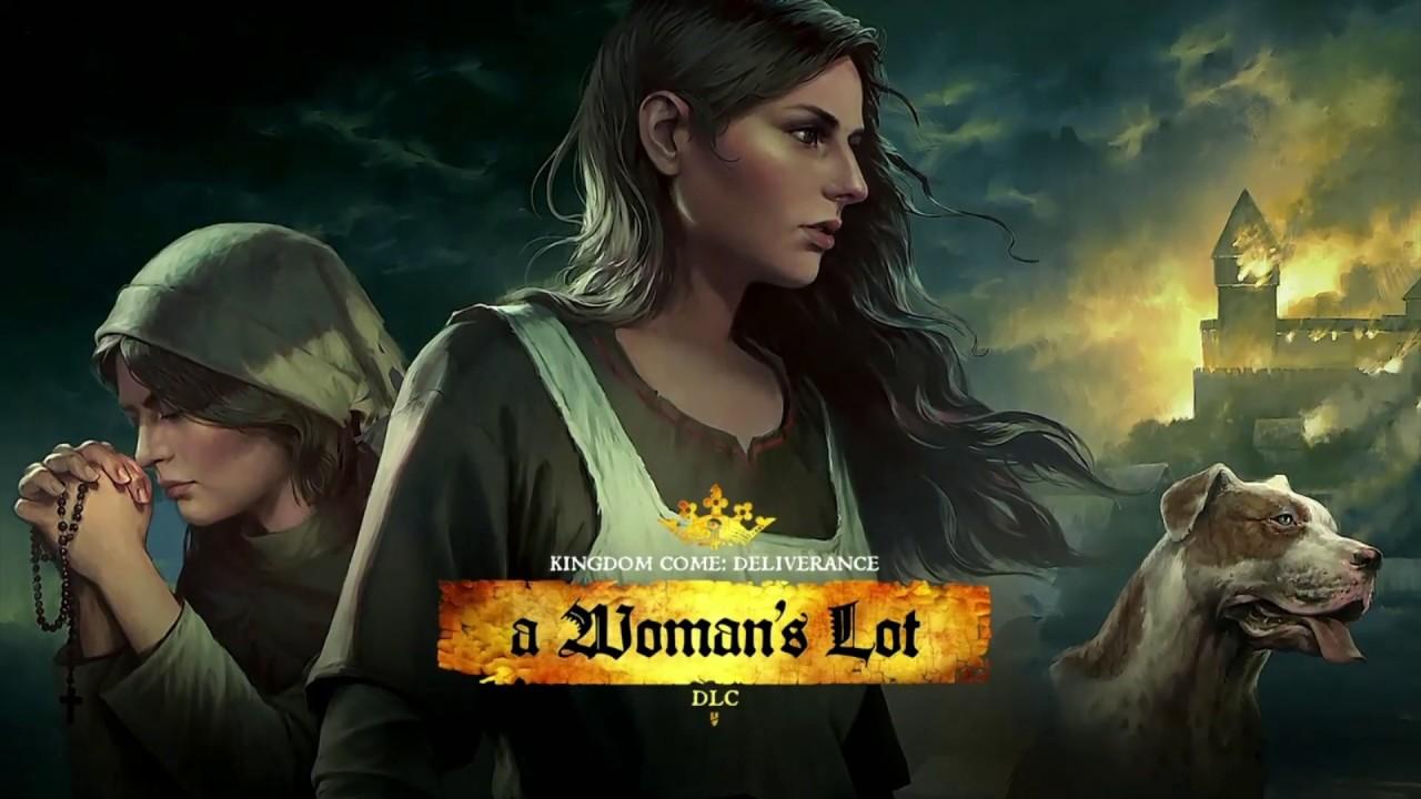 Do Kingdom Come: Deliverance zamířilo poslední rozšíření s názvem A Woman's Lot